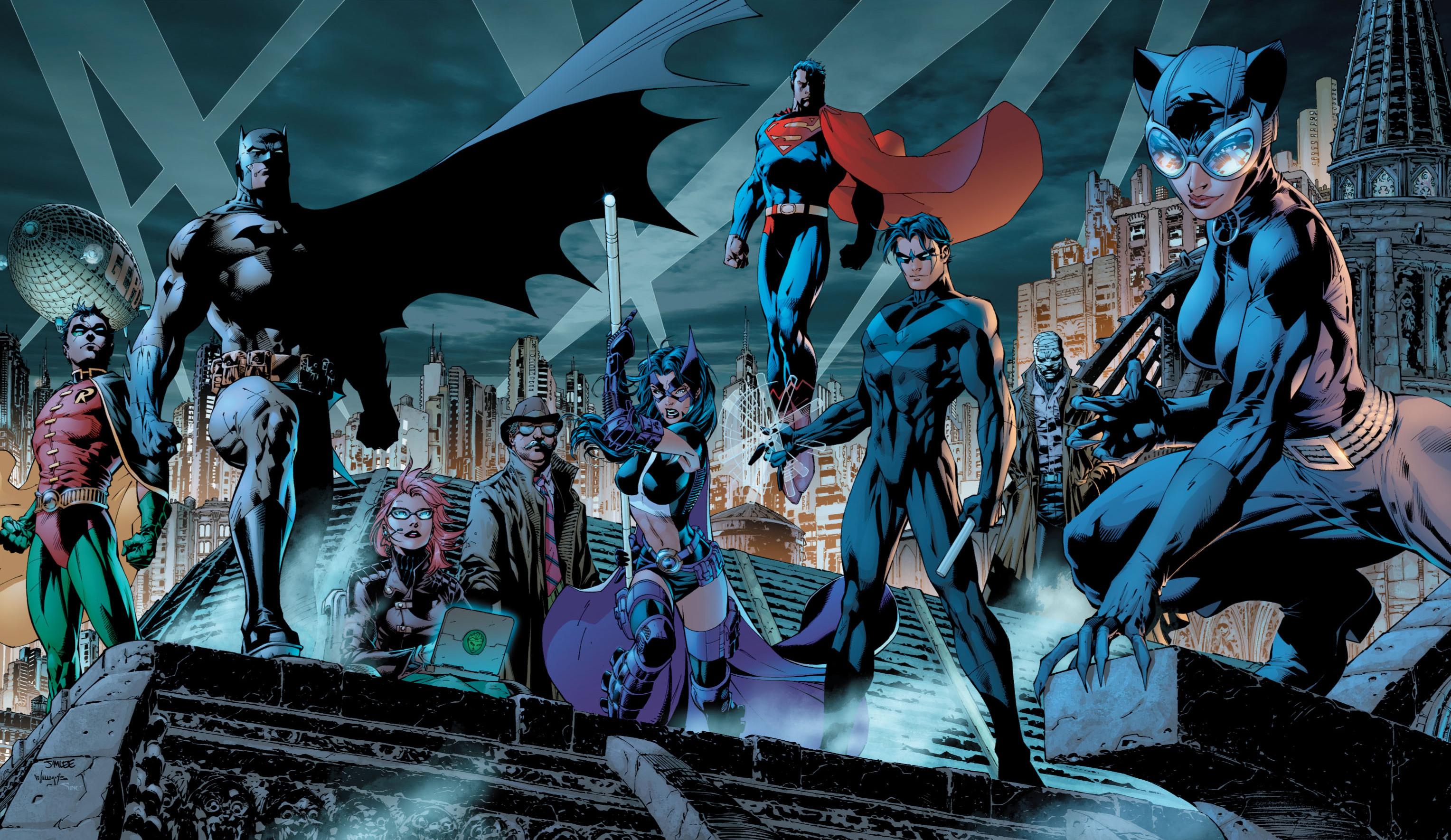 JLA: la Liga de la Justicia en cine - Página 2 Batman_Family_0004