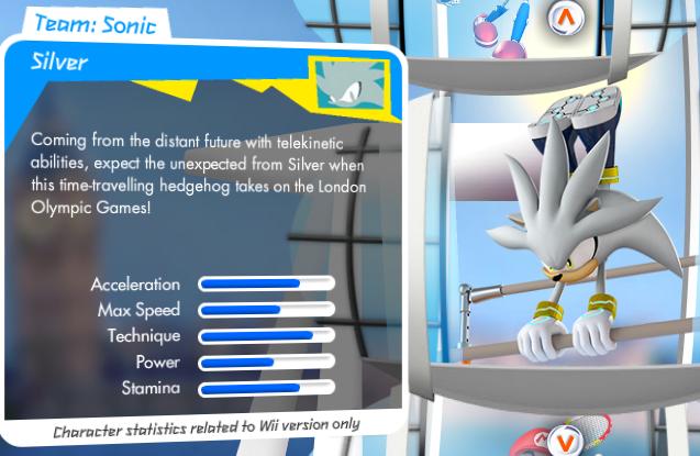 Mario et Sonic aux Jeux Olympiques de Londres 2012 (Wii) Silver_stats