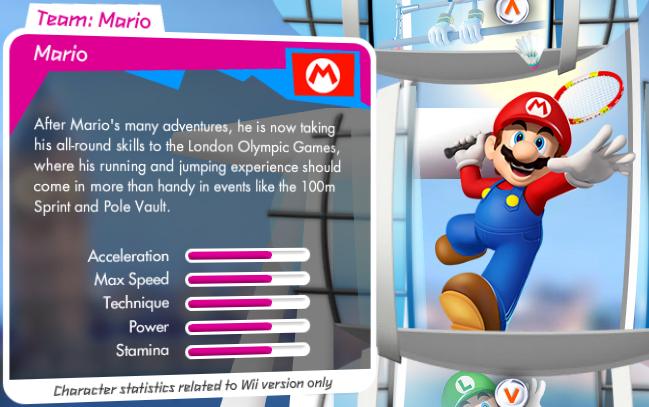 Mario et Sonic aux Jeux Olympiques de Londres 2012 (Wii) Mario_stats