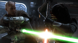 """Star Wars: Universo Expandido """"Solo para adictos""""  250px-Darach_vs_Vindican"""