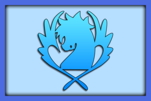 [H4 Wiki] Fairy Tail / Hội pháp sư 300px-Blue_Pegasus_Banner