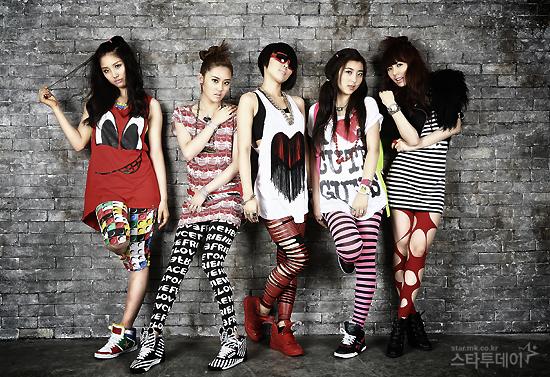 4Minute girls band