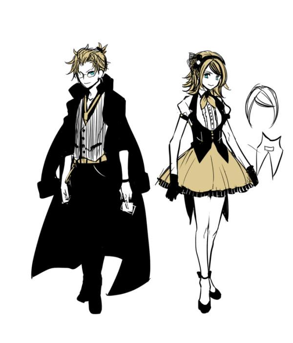 [Vocaloid] Ikasama⇔Casino - Kagamine Rin & Len Ikasama_Casino_Suzunosuke_1