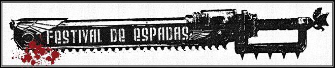 Festival de Espadas Barcelona 2013 660px-Logo_Festival_de_Espadas_Wikihammer_espada_sierra