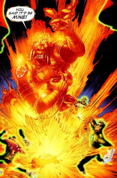 The Book of Larfleeze [par STARGRAVE, P. Plon. Okaara, 2020, 1p.] 394px-767424-you_said_super