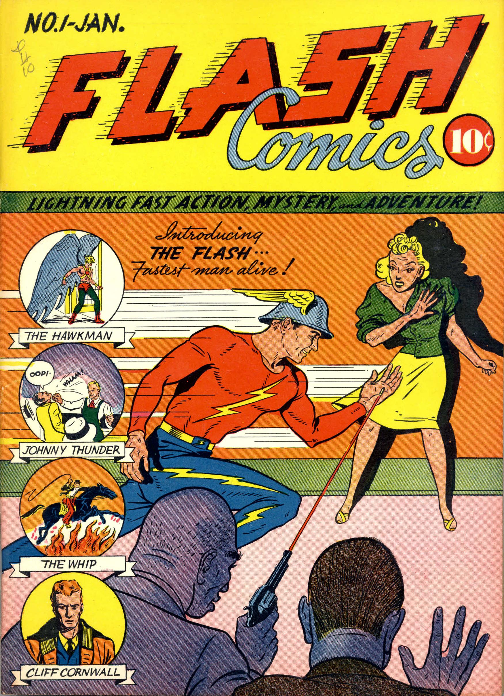 Les Rapides de DC Flash_comics_1