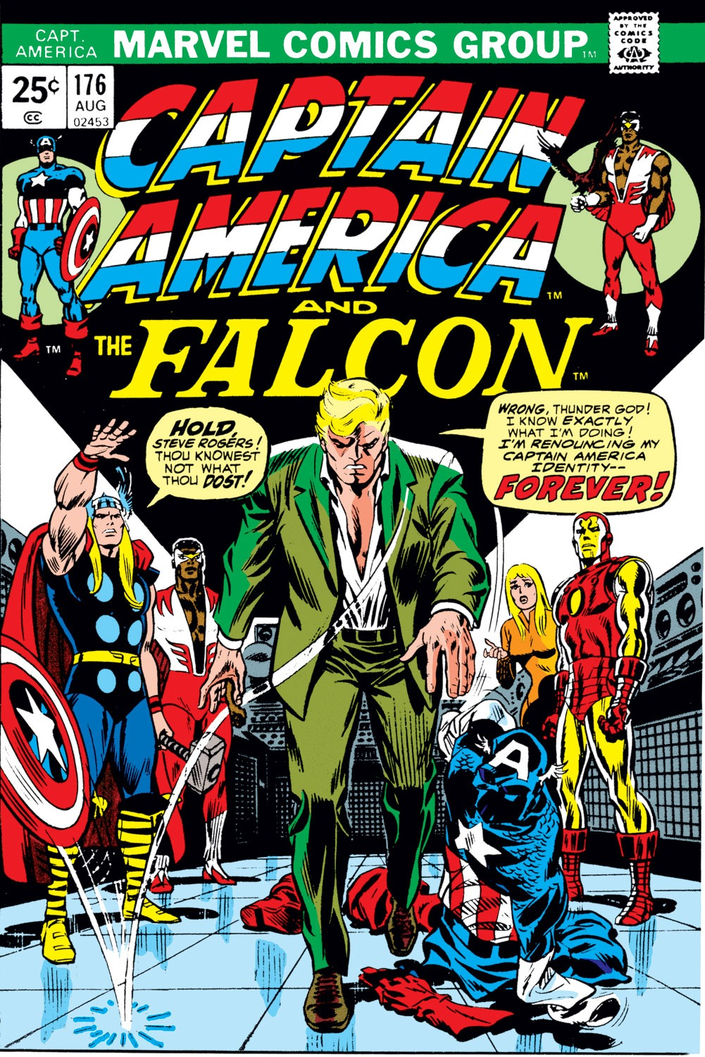 Classic Comic Covers - Page 2 Captain_America_Vol_1_176