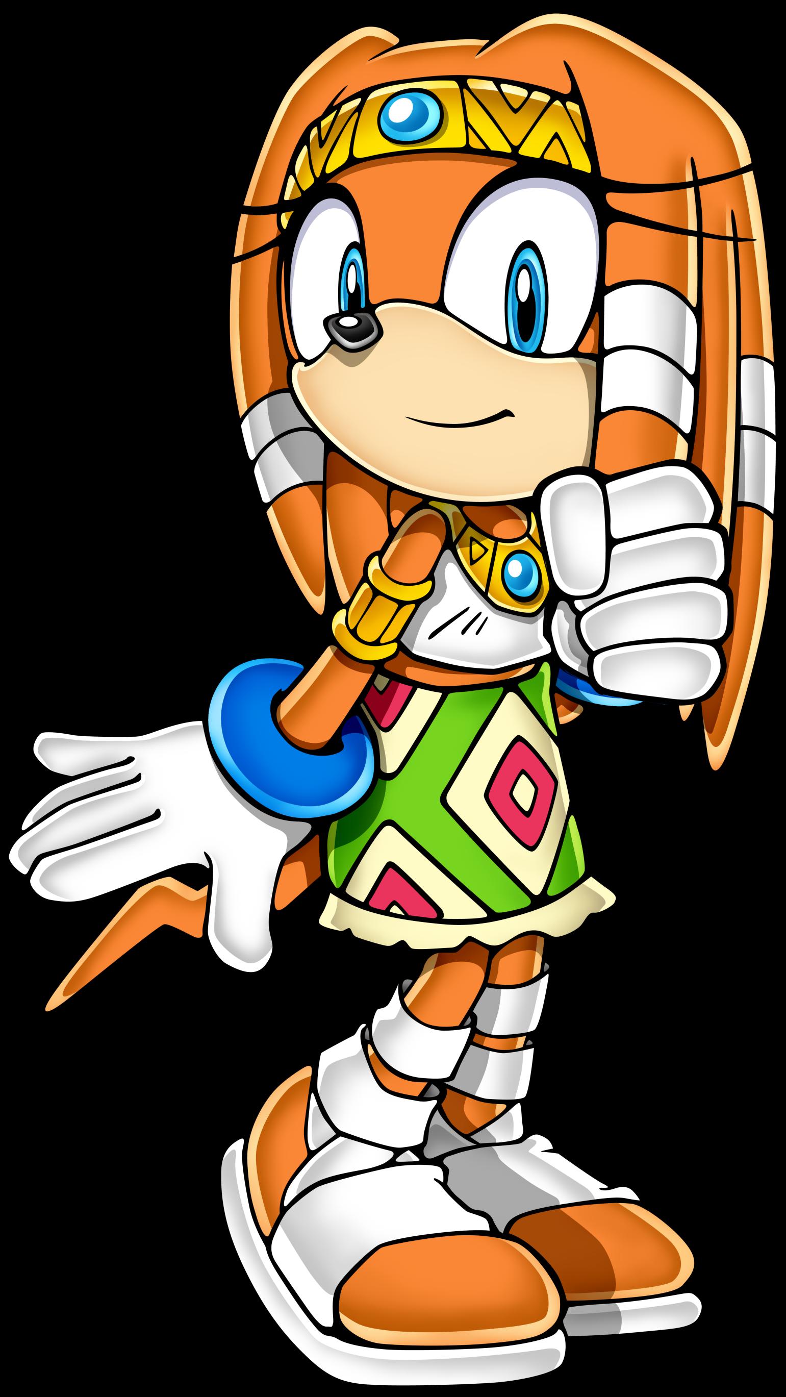 Projet Spécial ! Undub de Sonic Adventure DX Sonicchannel_tikal