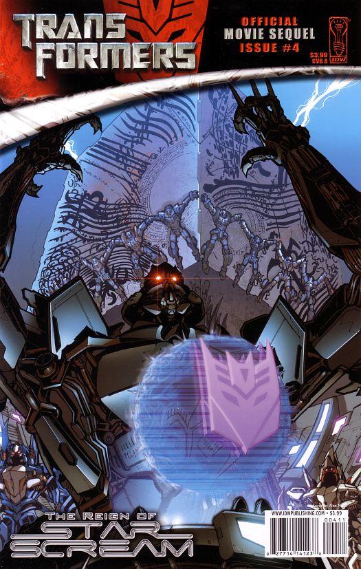 TRANSFORMERS 3: The Dark of the Moon (2011)... Spoiler/Rumeurs [page 2] - Page 3 ReignOfStarscream4_CoverA