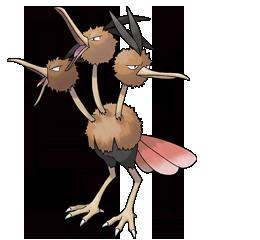 [Petición-Modelo] Pokémones de Pokémon Rojo Fuego Dodrio