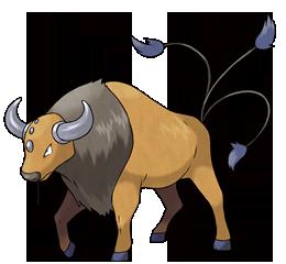 [Petición-Modelo] Pokémones de Pokémon Rojo Fuego Tauros