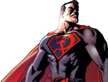 Nuovi Supereroi Superman_comunista