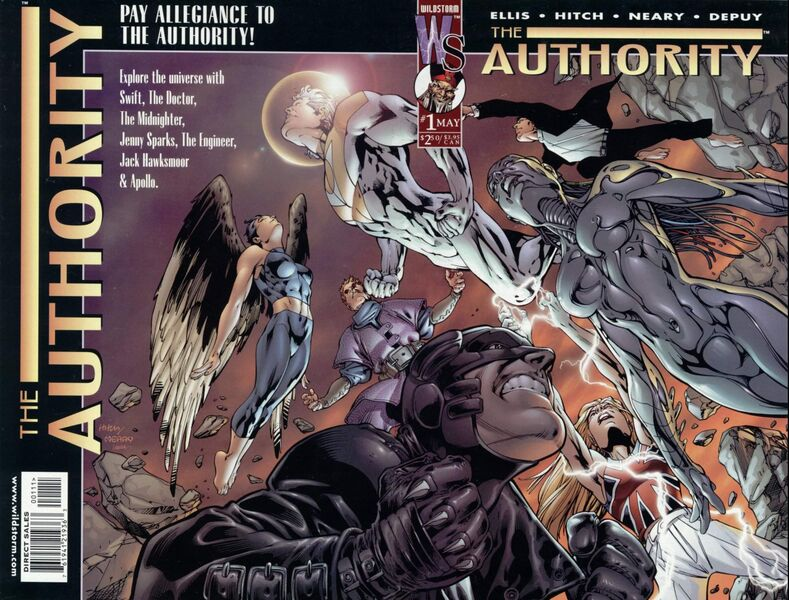 COLECCIÓN DEFINITIVA: THE AUTHORITY [UL] [cbr] 789px-The_Authority_Vol_1_1