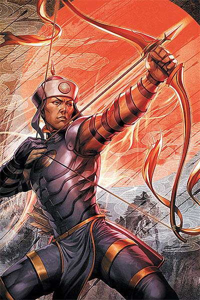 Arrow / The Flash The_Great_Ten_Vol_1_2_virgin