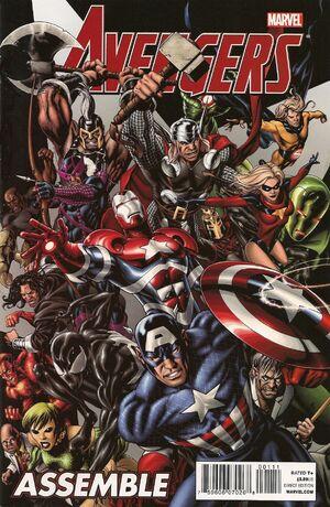 Manuel Officiel de l'Univers Marvel Thématiques 2010-2011 300px-Avengers_Assemble_Vol_1_1