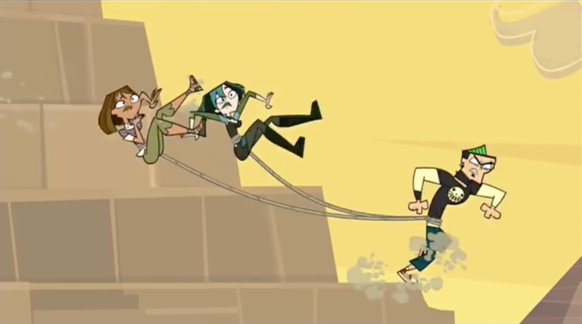 Total Drama World Four AnEnragedDuncanGoesDownThePyramid