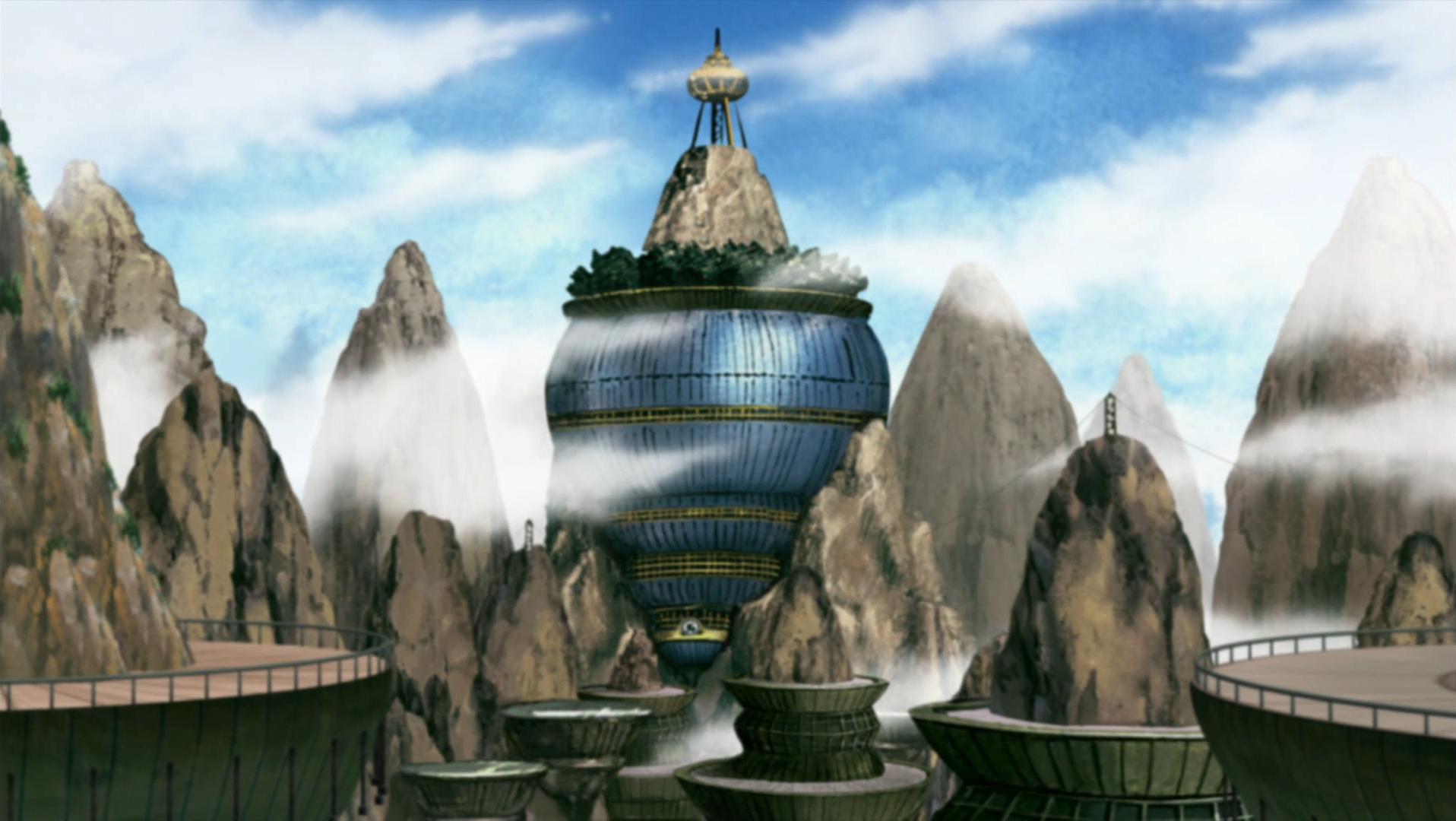 Vzhľad Kumo zvnútra Kumogakure
