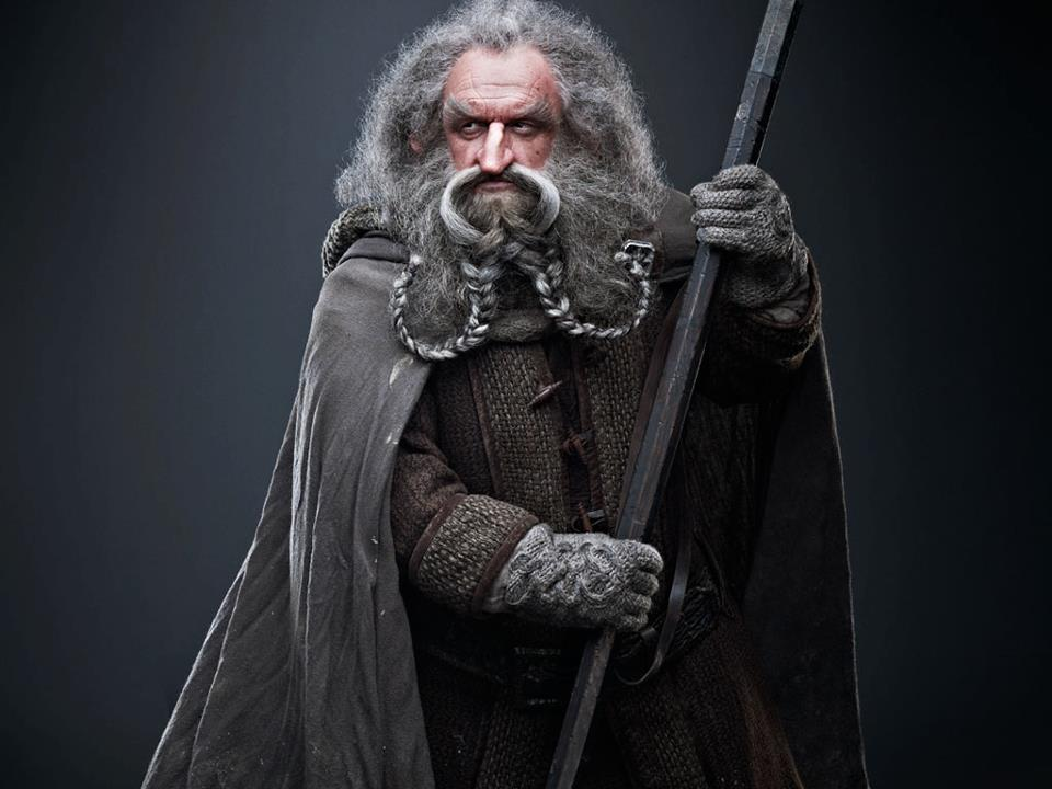 [DUNEDIN ARMAGEDDON] 'The Hobbit' Dwarf Group Oin_badass
