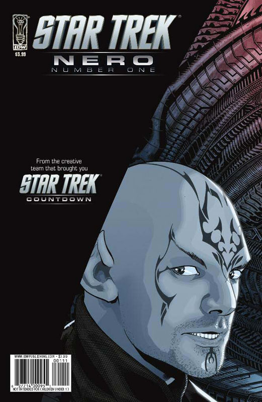 Star Trek : Countdown [KTL;2009] - Page 2 Nero_issue_1_cover