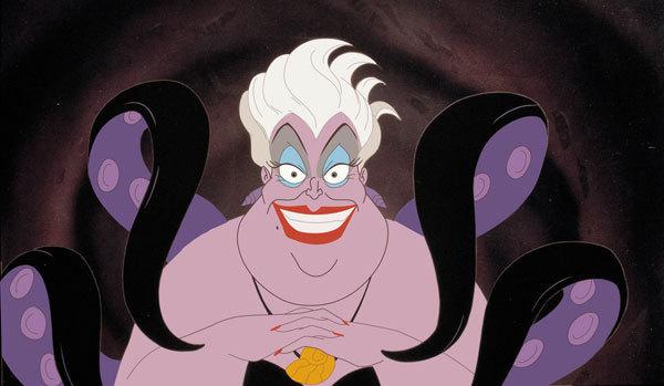 [SPECIAL HALLOWEEN] Honneur aux sorcières ! Ursula-disney-villains-16283711-600-349
