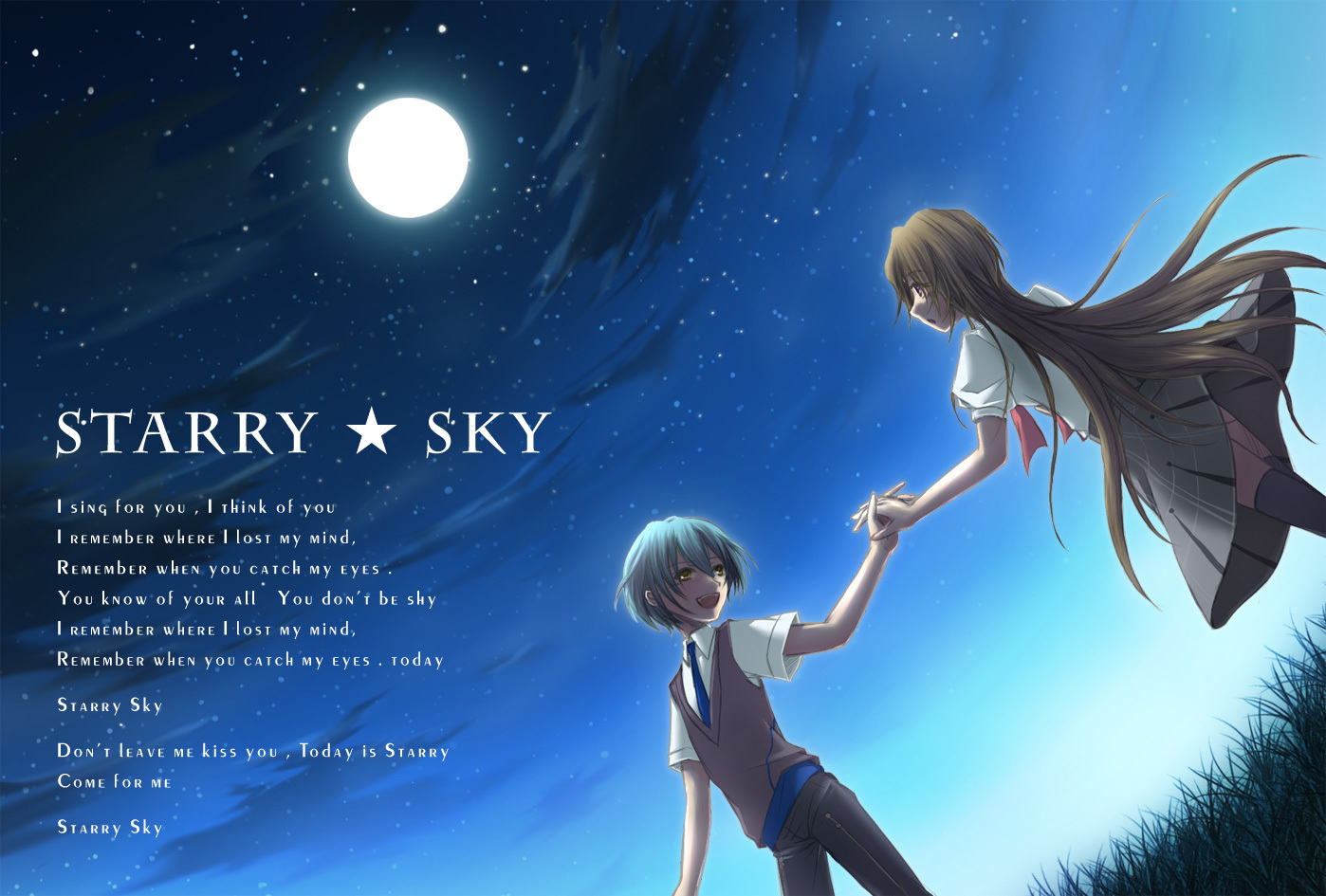 Starry Sky picture Tsukiko-x-Homare-starry-sky-17106855-1398-945