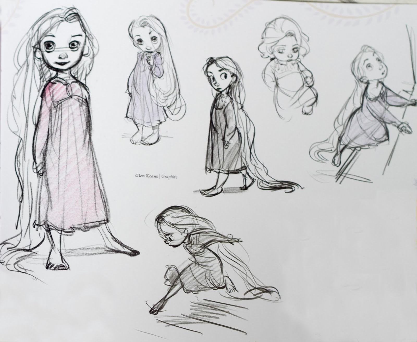 Desenhos!!! - Página 3 Little-Rapunzel-Concept-Art-disney-princess-18028371-1600-1312