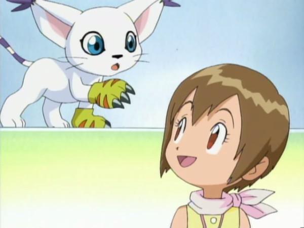 Digimon Gatomon-kari-kamiya-and-gatomon-18135219-600-450