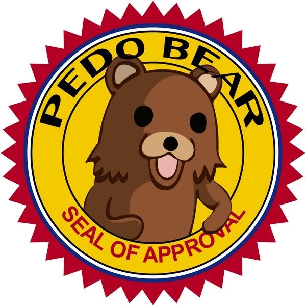 Espace Flood [... avec modération] - Page 8 Pedo-Bear-Seal-Of-Approval-pedo-bear-18908337-600-600