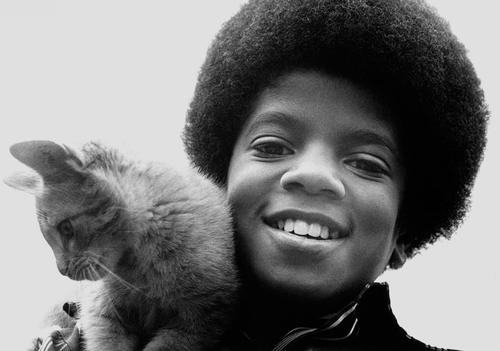 "Immagini era  ""JACKSON 5 - JACKSONS"" - Pagina 27 Little-Mikey-and-Kitten-michael-jackson-23812415-500-351"