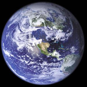 Six dangers mortels pour la civilisation 300px-Globe-USflooded-katrina