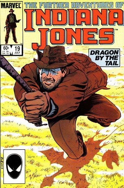 Indiana Jones(Indijana Džons) Stripovi DragonByTheTail
