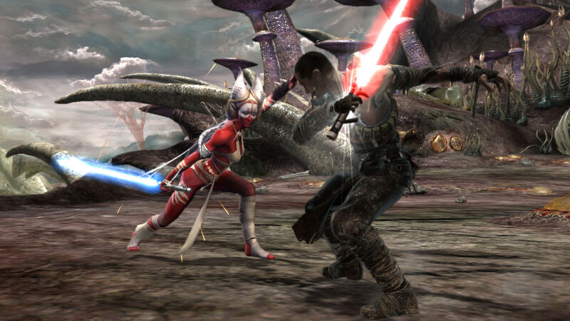 Review of Star Wars: The Force Unleashed 800px-ShaakTi_vs_Starkiller