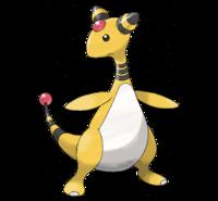 Similitud Pokemon - Personaje. 200px-Ampharos