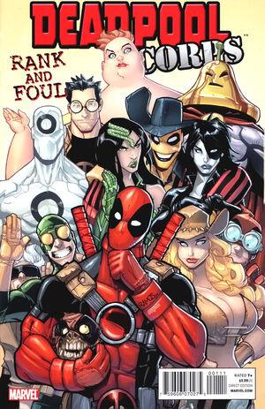 Manuel Officiel de l'Univers Marvel Thématiques 2010-2011 300px-Deadpool_Corps_Rank_and_Foul_Vol_1_1