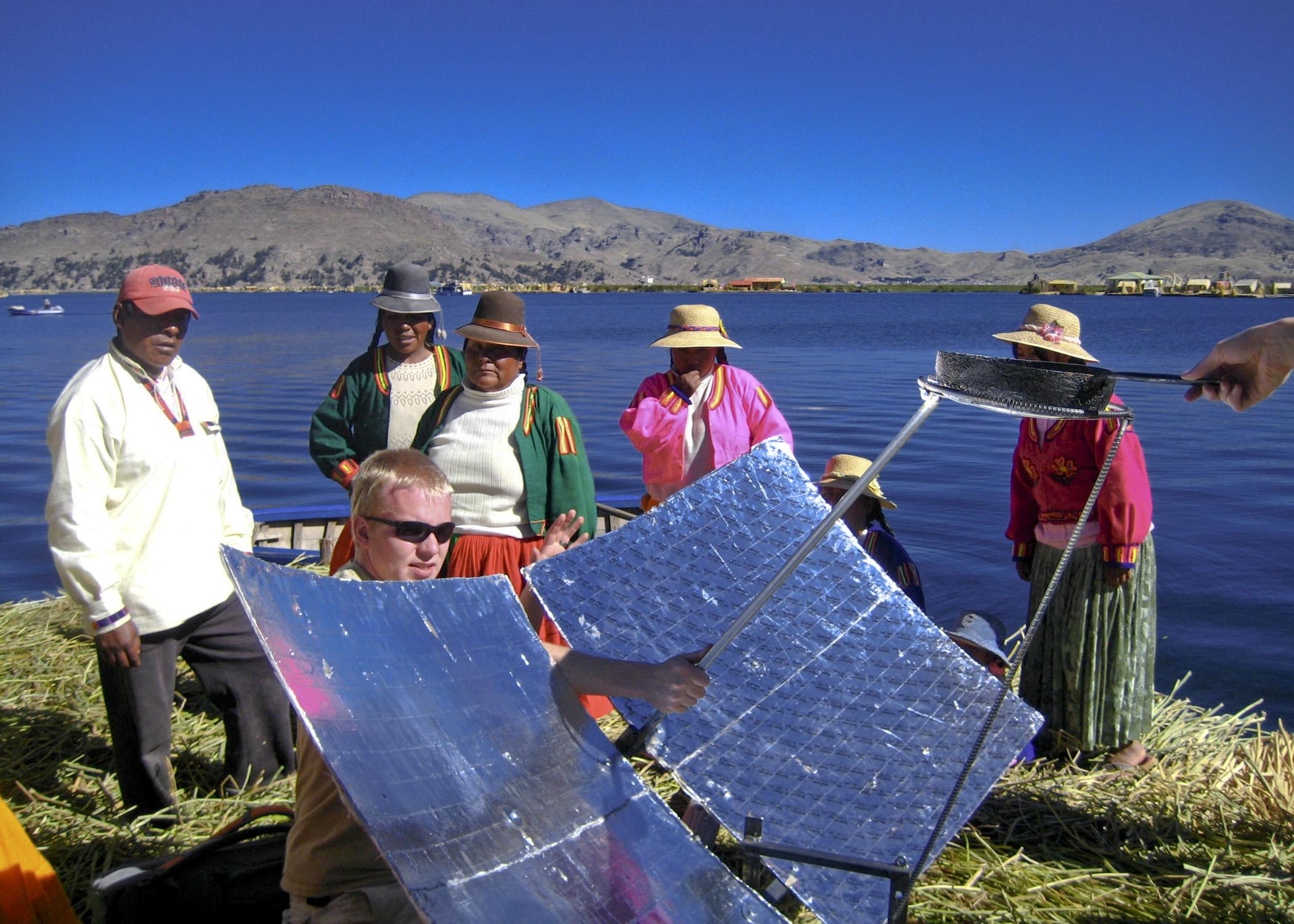 Peru - Page 3 BYU_project_in_Peru_at_lake