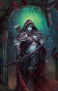 Lore for Noobs: Windrunner sisters 200px-Sylvanaswindrunner3