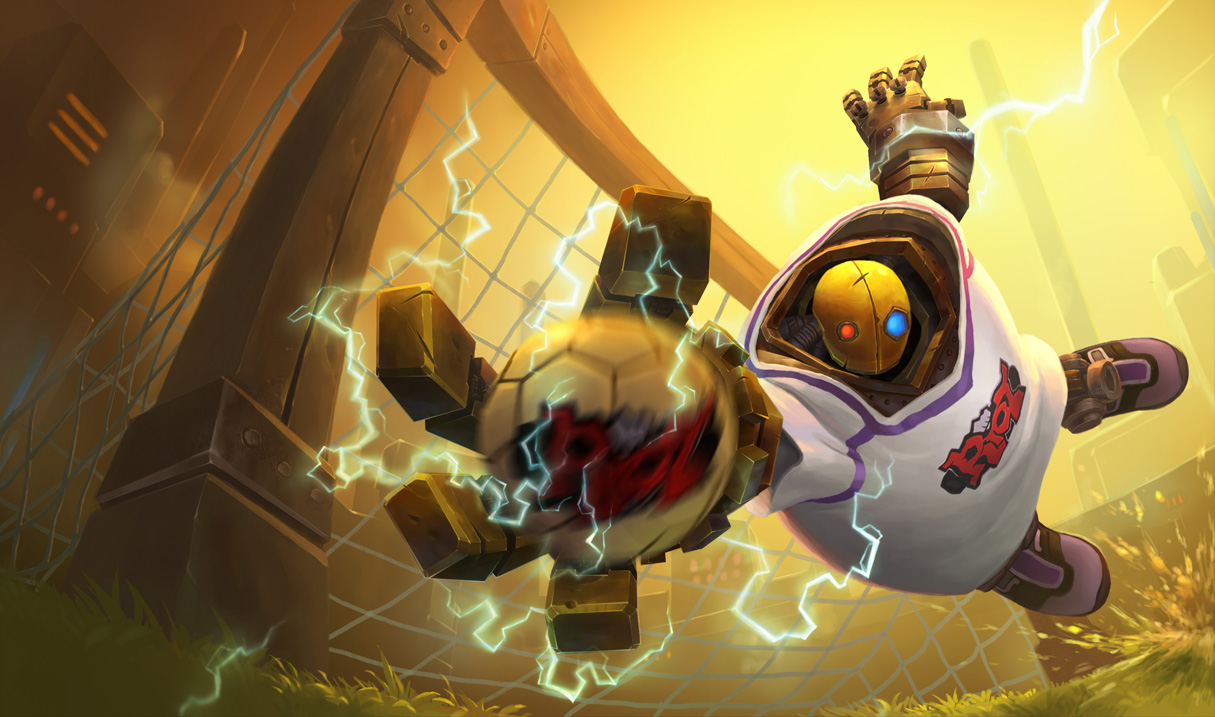 P.O League Of Legends Champs And Skins Blitzcrank_GoalkeeperSkin_Ch
