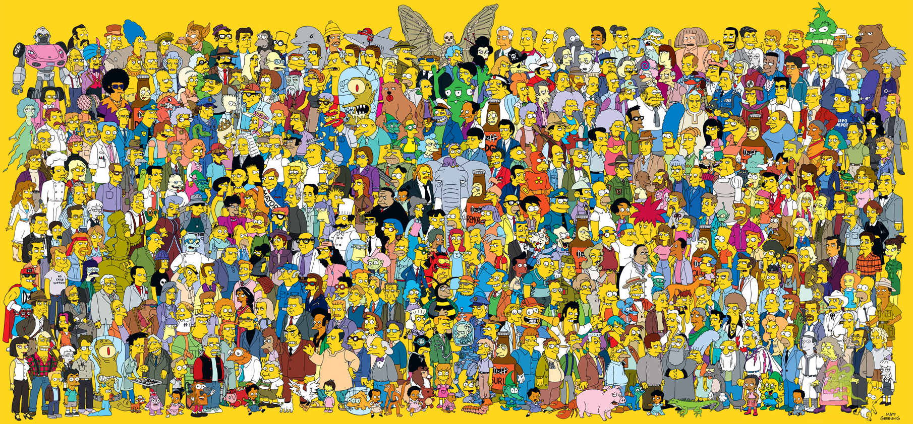 Los Simpsons The_Simpsons_characters