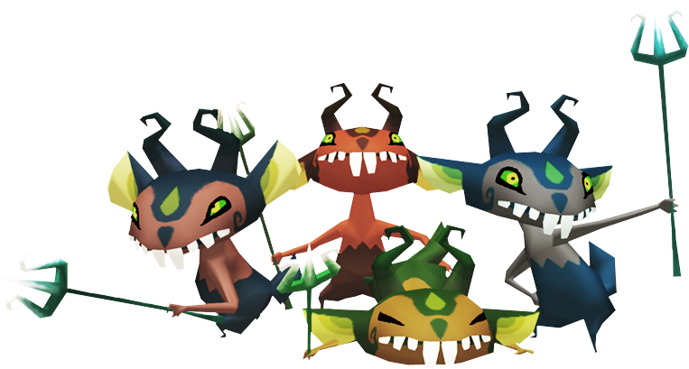 Creepy, Unsettling, or Downright Disturbing Miniblins
