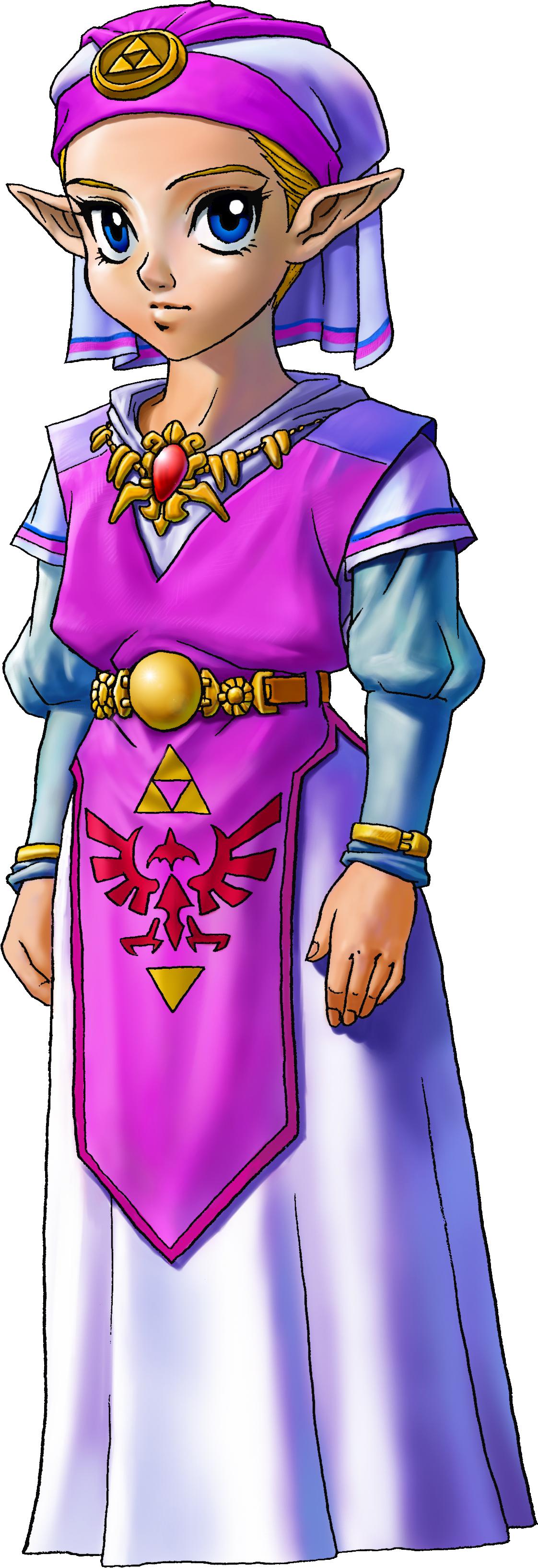 The Legend of Zelda: Ocarina of Time Zelda_ni%C3%B1a_artwork_3d