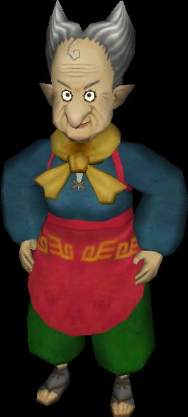 The Legend of Zelda : Skyward Sword Galina