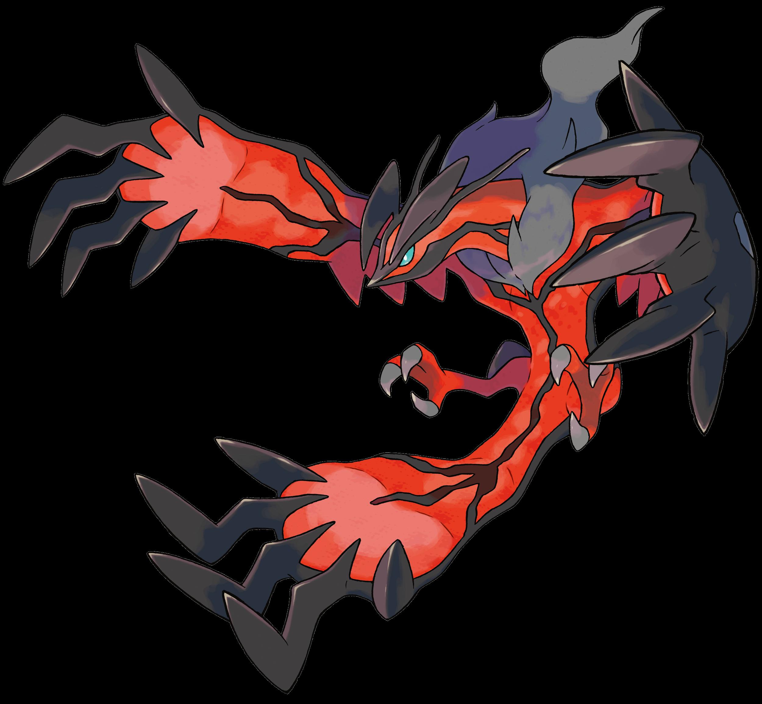 Videojuego >> Pokémon X y Pokémon Y (6ª generación) III Yveltal