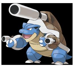 Teams pokémen y nuestras partidas Mega-Blastoise