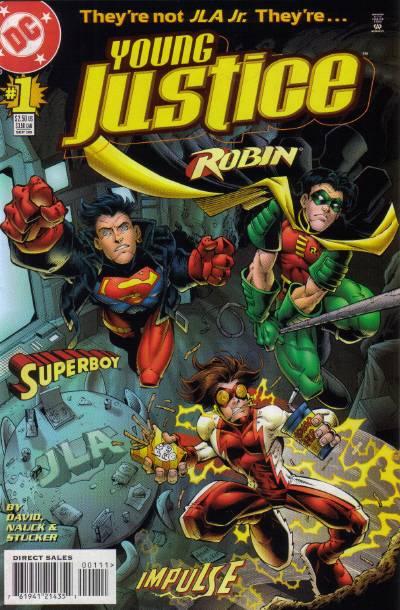 Les Rapides de DC Young_Justice_1