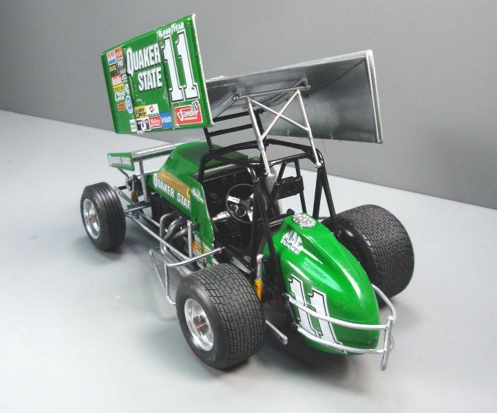 Quaker State Sprint Car QS028f-vi