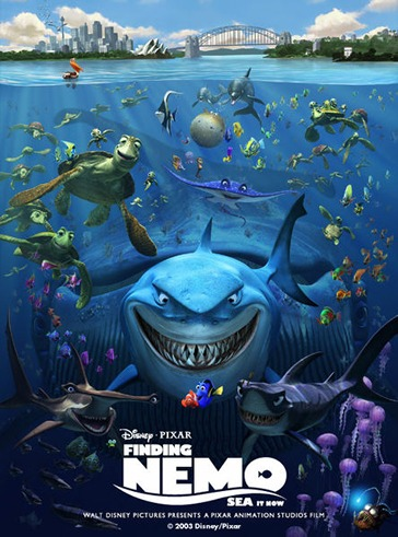 [Pixar] Le Monde de Nemo 3D (2012) Nemo-Poster-finding-nemo-24749523-364-491