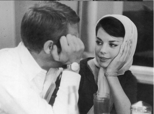 Steve McQueen - Page 2 Steve-McQueen-and-Nat-natalie-wood-30395168-500-372