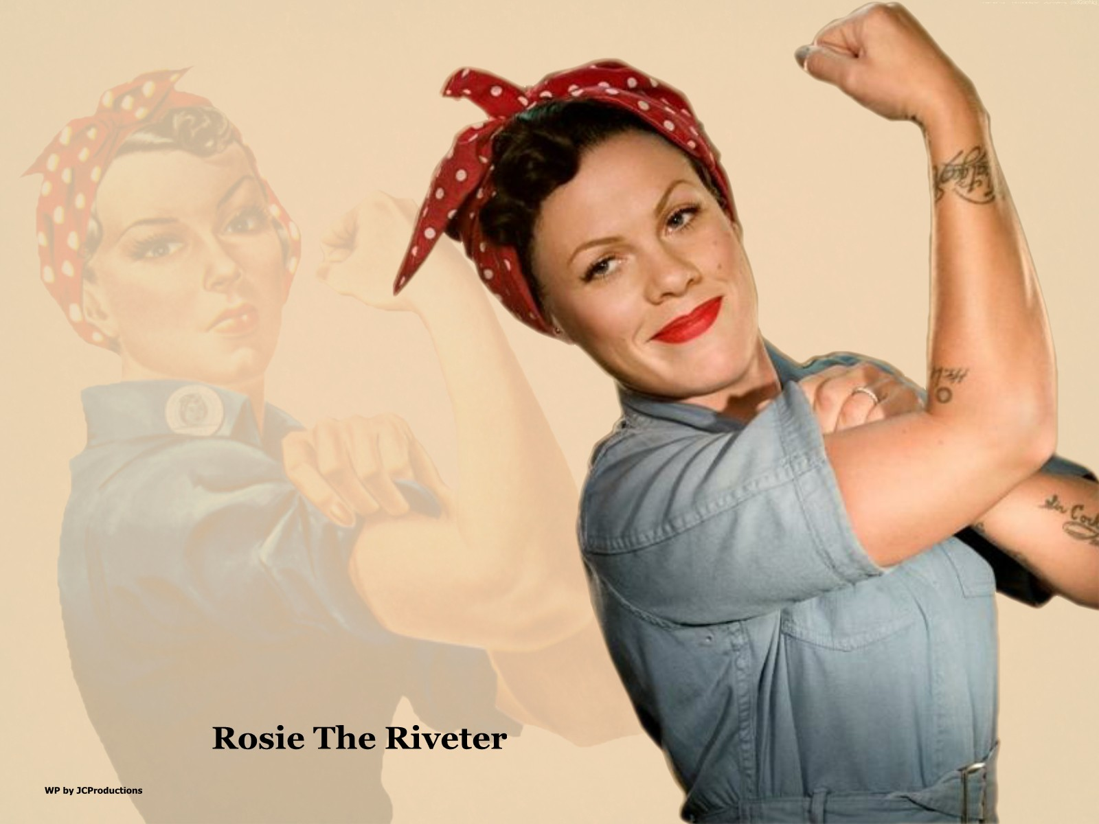"""You+Me (P!nk + City and Colour) » álbum """"rose ave."""" Rosie-The-Riveter-a-k-a-P-nk-pink-31009515-1600-1200"""