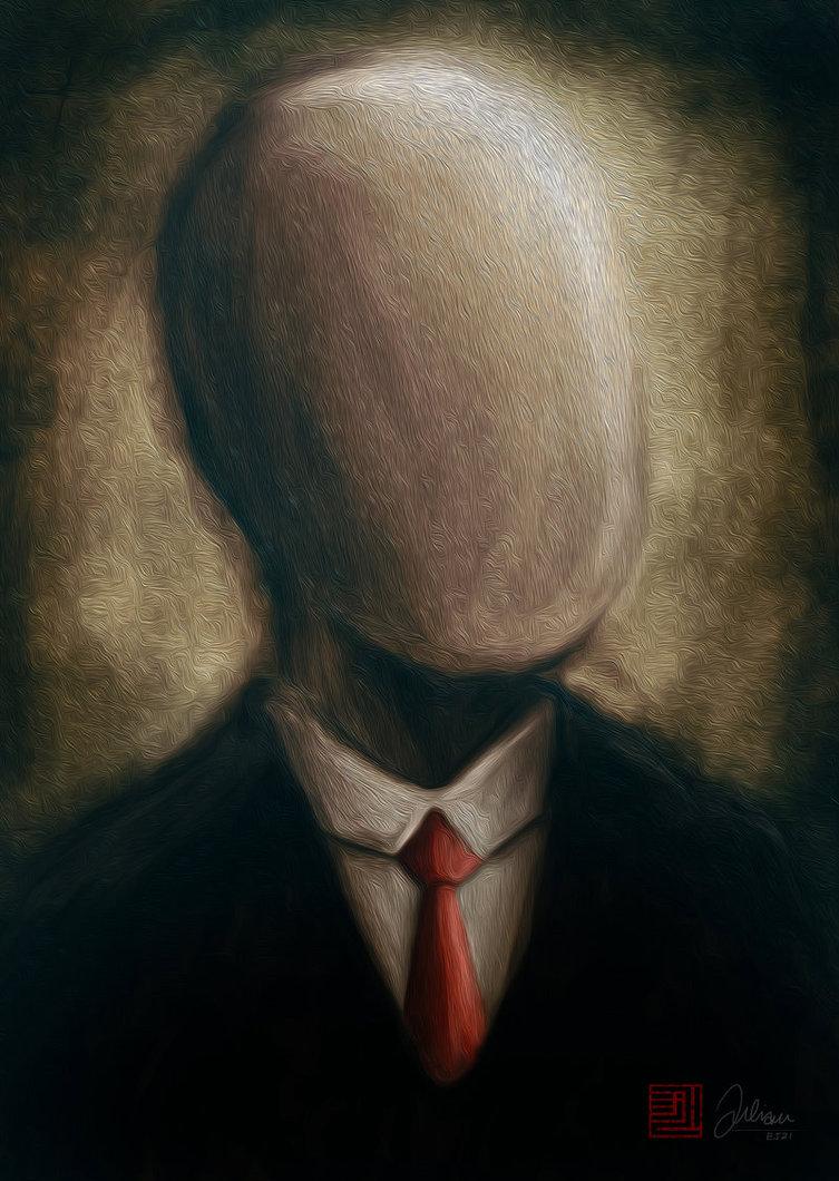 "[MEP SNK] Aleatoire Show Hors série ""Summer Show"" Slender-man-Painting-the-slender-man-31474708-753-1060"
