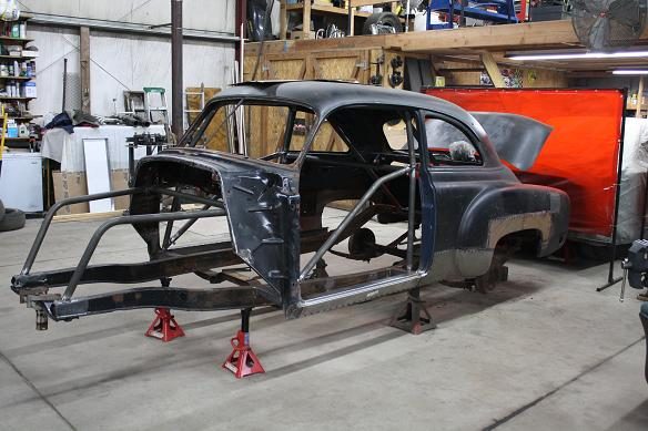 "1951 Chevrolet Gasser! ""SHOP REPORT"" 22/01/2013 - Page 6 Photo1-vi"